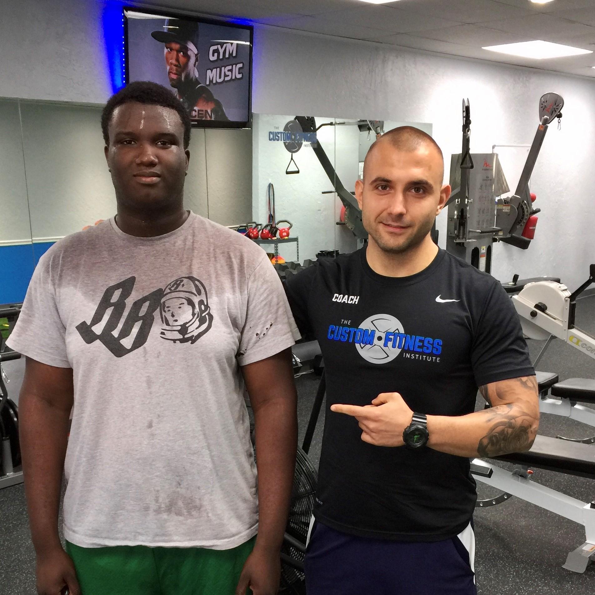 niko tsachev the custom fitness institute pompano beach